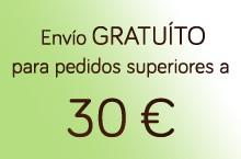 Envío gratuíto para pedidos superiores a 30 euros